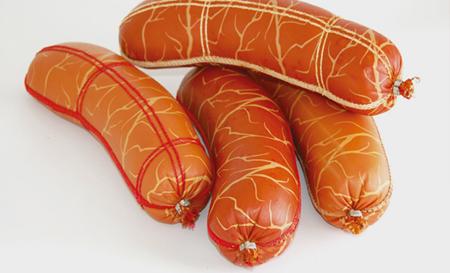 Коллагеновая прошитая колбасная оболочка «Натурин»