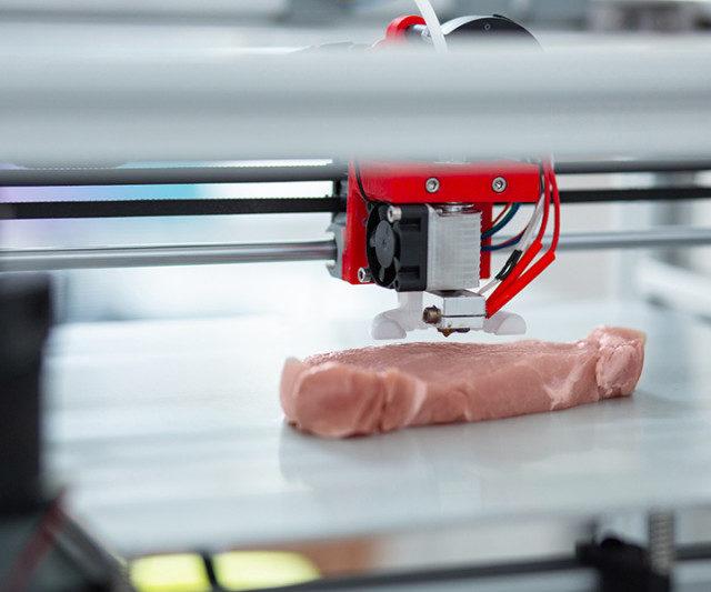 Первые стейки на 3D-принтере начнут подавать в ресторанах уже в этом году